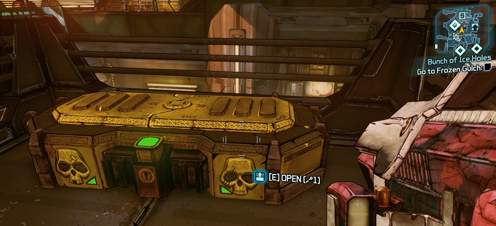 borderlands tps golden treasure chest