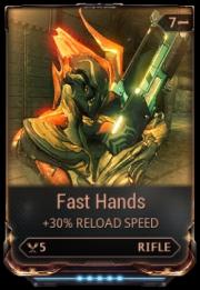Warframe Fast Hands