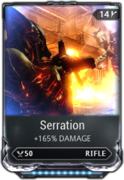 Warframe Serration