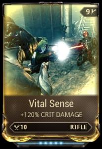 Warframe Vital Sense